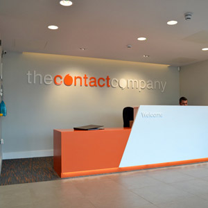 The Contact Company Reception Desk